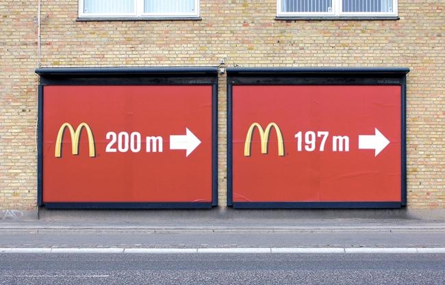 McDonalds billboard - Digital Printing