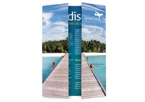 Gate leaflet - digital printing