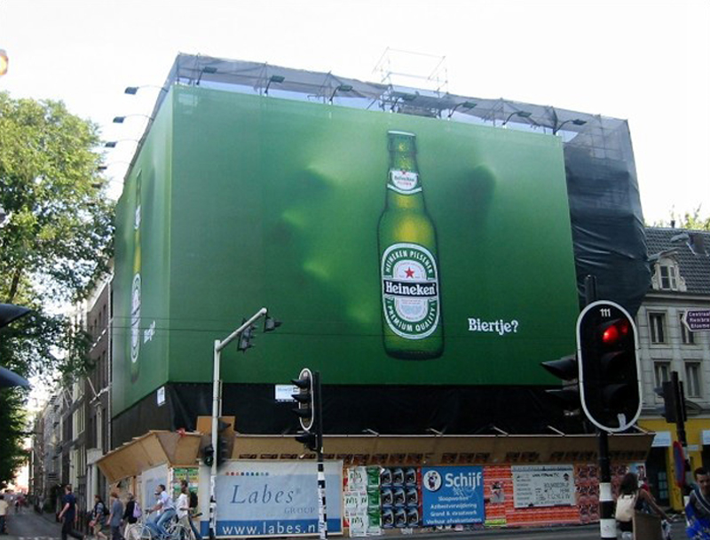 Heineken billboard