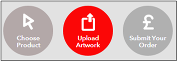 Digital Printing in 3 easy steps: Step 2 - Upload your artwork