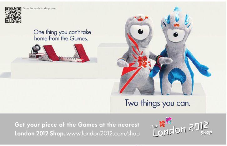 London 2012 - QR Code - Digital Printing