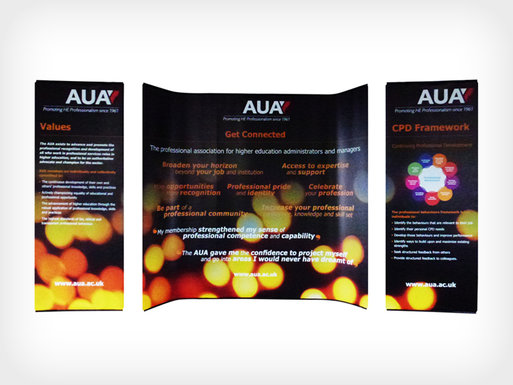 Curvorama Display Stand - Digital Printing