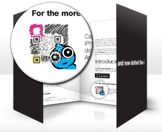 QR Code in Brochure - Digital Printing