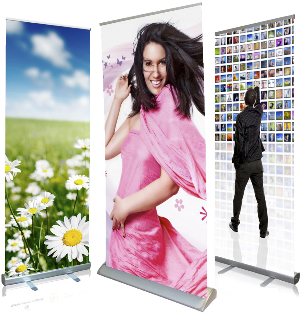 Pop up stands - quality images - digital printing