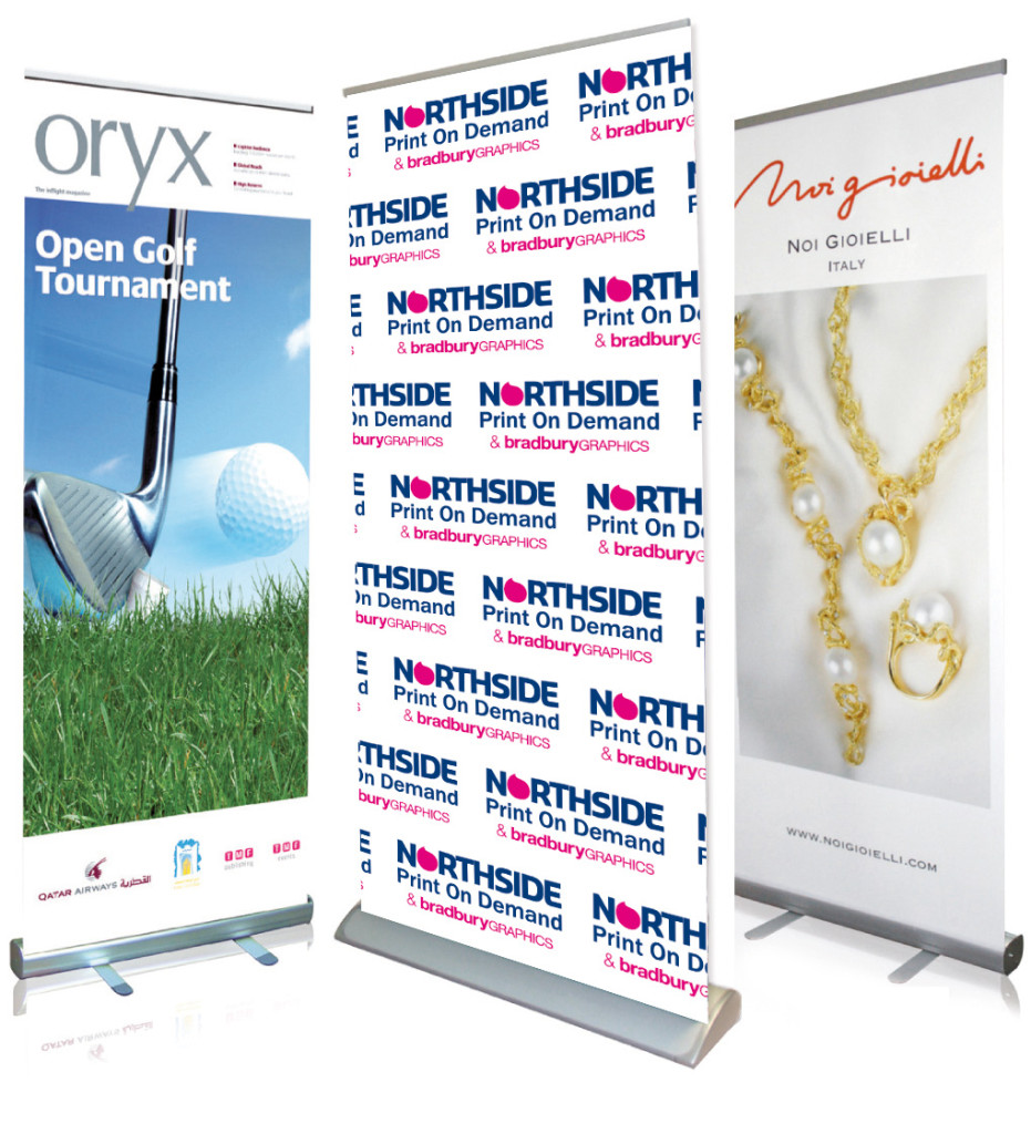 Roll Up Banner Stand - Digital Printing
