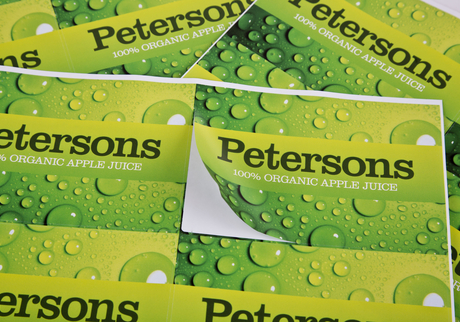 square and rectangle stickers - digital printing