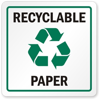 Recycled paper - Digital Printing