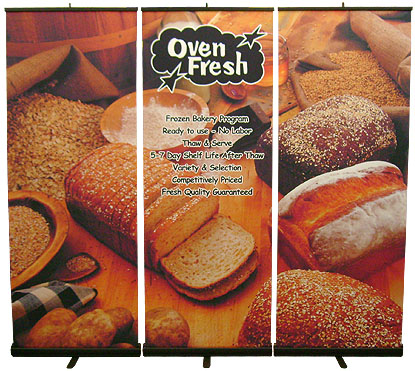 3 Piece banner - effective banners - digital printing