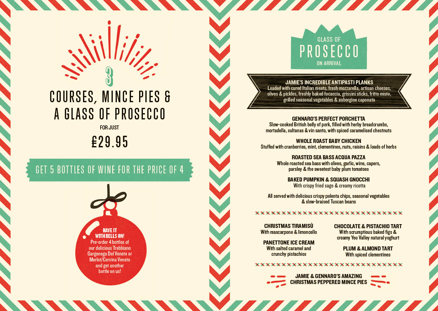 Christmas food menu - Digital Printing