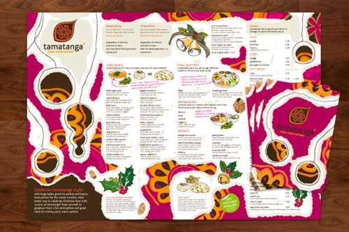 Get festive with folded leaflets!