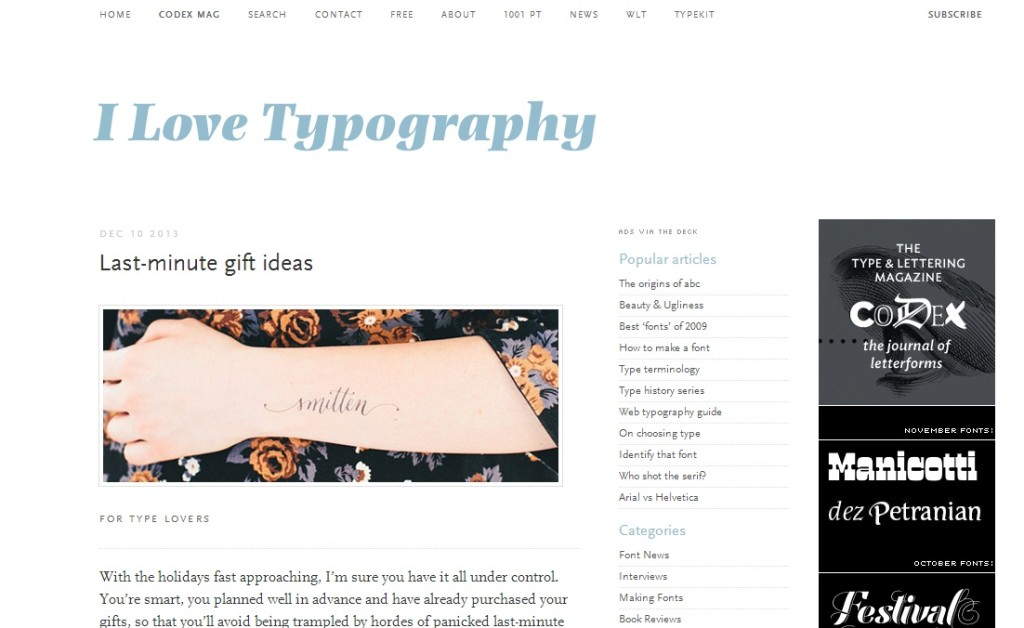 Creative blogs to follow - Digital Printing