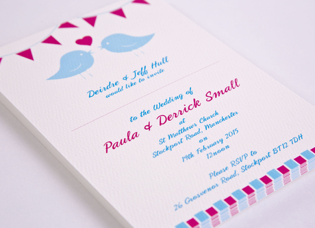 Space on invites - Digital Printing