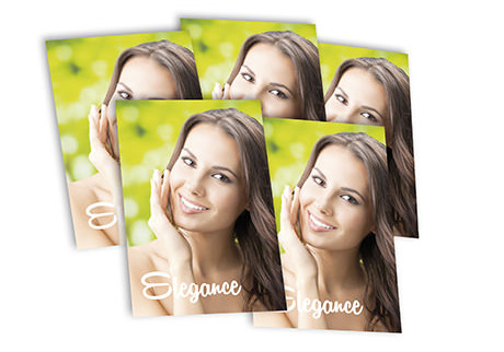 laminated leaflets - professional look - Digital Printing
