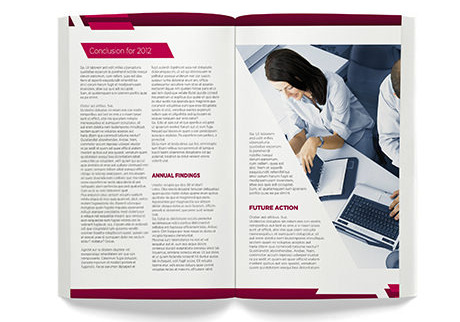 perfect bound books brochures - Digital Printing