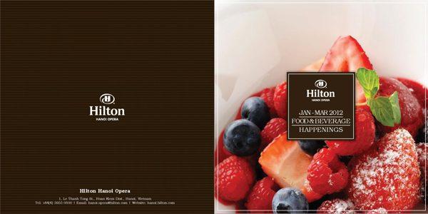 Hilton food brochure - Digital Printing Blog