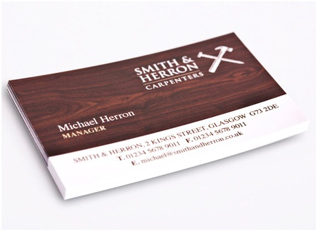 Business card - Digital Printing blog