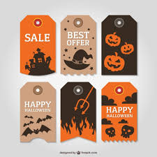 halloween labels