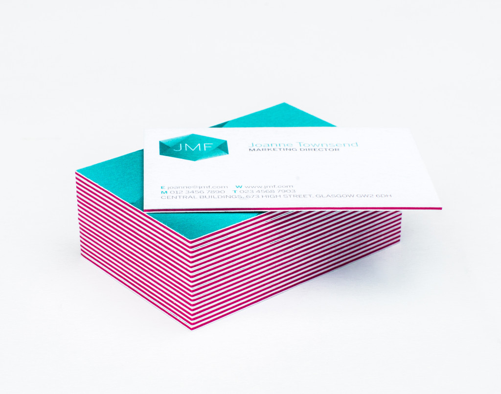 Quadruple Thick business cards