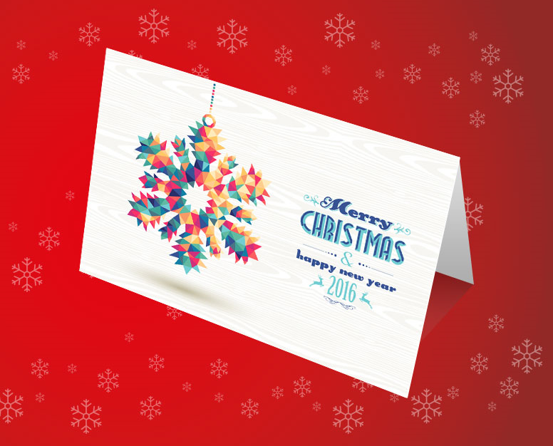 Promote your business this Christmas with greetings cards
