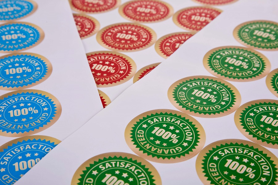 Stuck for marketing ideas? Try printed stickers!