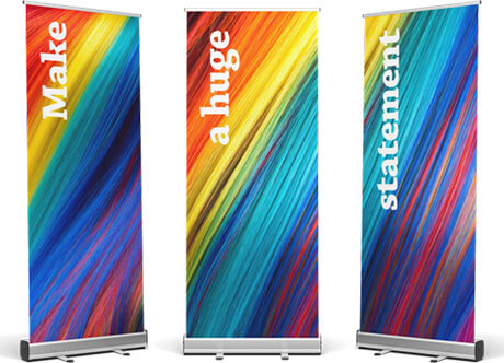 The best ways to promote your brand, products and services with roll up banner stands