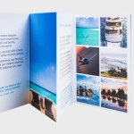Find new customers with folded leaflets