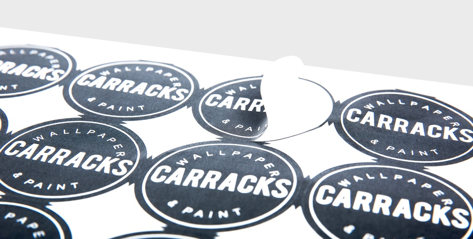 Custom sticker printing personalised stickers made easy