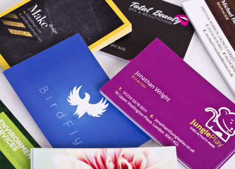 Get more leads with these 5 clever ways to distribute business cards business cards 14 reheart Image collections