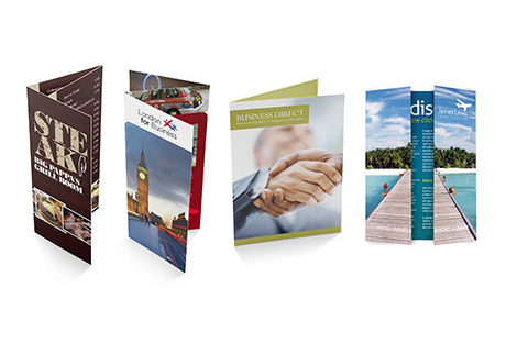 make an impact with folded leaflets digital printing