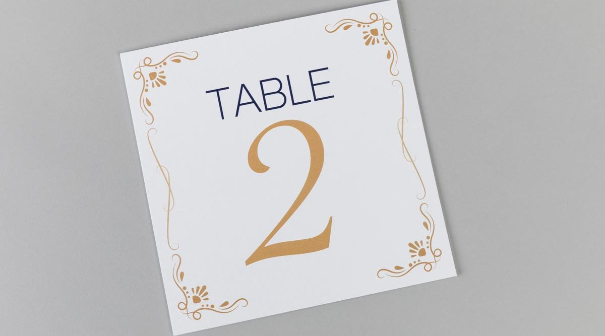 Table Names Printing